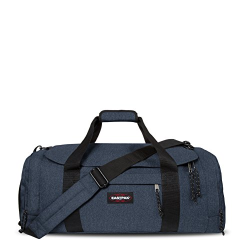 Eastpak Reader M, Borsone Unisex, Blu (Double Denim), 45 liters, Taglia Unica (63 centimeters)