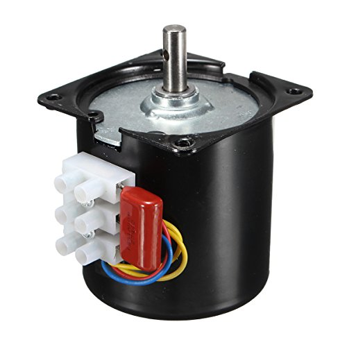ILS - AC 110V 14W 30RPM/min 50HZ Low Speed Reversible Synchronous Motor (110v Motor)