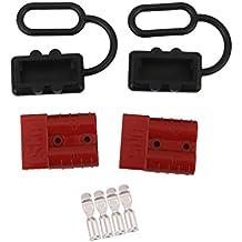 Juego Conector Cabrestante Batería de Conexión Rápida Desconexión Mazo de Cables Patio ATV