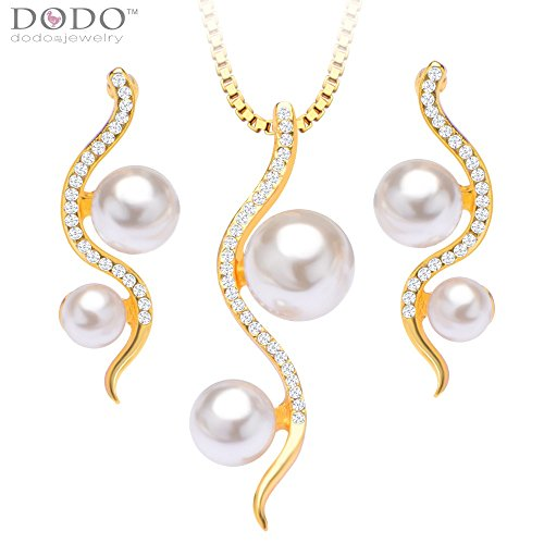simple-trendy-luxury-simulated-pearl-jewelry-set-necklace-pendant-earrings-18k-gold-plated-necklace-