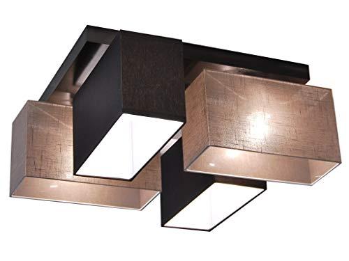 Plafoniere Da Soffitto In Legno : Plafoniera illuminazione a soffitto in legno massiccio jls d