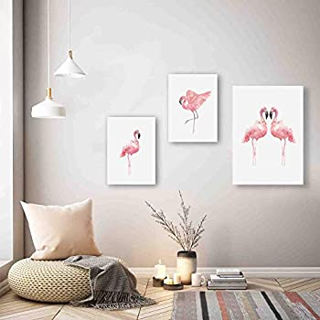 SAF Swan Designer Set of 3 UV Textured Painting (1 Pc.:-12 X 18 Inches and 2 Pc:- 9 X 12 Inches, SAF_9X18_02)