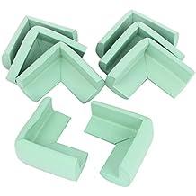 De espuma de escritorio esquinero con bordes protegidos diseño de cojín Protector de 8 piezas