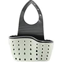 Kitchen Sink Shelf Soap Sponge Drain Rack Holder Double Decker Hanging Basket Storage Suction Cup Kitchen Organizer Sink Accessories Wash Dropshipping,