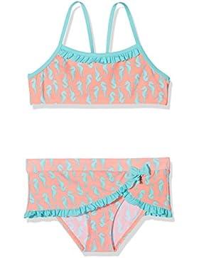 Schiesser Mädchen Badebekleidungsset Seepferdchen Selina Bustier-Bikini