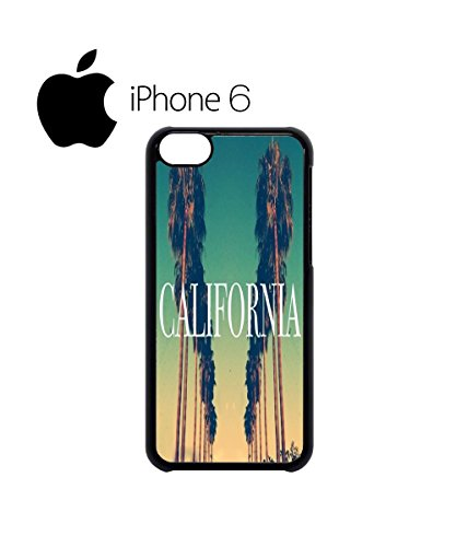 California City Vintage Retro Swag Mobile Phone Case Back Cover Hülle Weiß Schwarz for iPhone 6 White Weiß