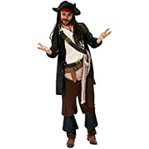 Rubie 's oficial de Disney Jack Sparrow disfraz de–de piratas del Caribe para adulto–XL