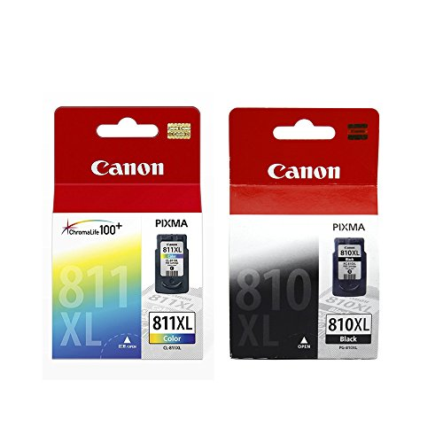 Canon Combo of PG-810XL And CL-811XL Ink Cartridge (PG-810XL Black:CL-811XL Color)  available at amazon for Rs.3329