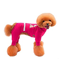 erthome 1PCS Pet Clothes Fall Winter Four Legs Dog Clothes Puppy Home Clothes