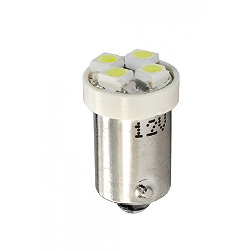 Preisvergleich Produktbild M-Tech 1Leuchtmittel LED weiß BA9s 12V 4X SMD35280,32W