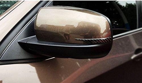 Serie Vii Filter (Biznon Set von 2Carbon Faser Rückspiegel pferdeweste Kantenschutz Streifen Displayschutzfolie für BMW Serie 35GT 7x 3X42011-2017X 5X62008-2017lang)