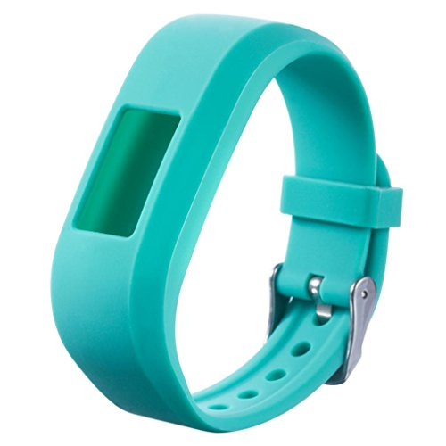 Omiky® Mode 2017 Ersatz Sport Silikon Uhr Armband Strap Band für Garmin VivoFit Jr Junior Kids Fitness (Minzgrün) (Kids Ersatz-uhrenarmband)