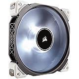 Corsair ML140 Pro LED PC-Gehäuselüfter (140mm, mit Premium Magnetschwebetechnik, weiß LED, Single Pack)