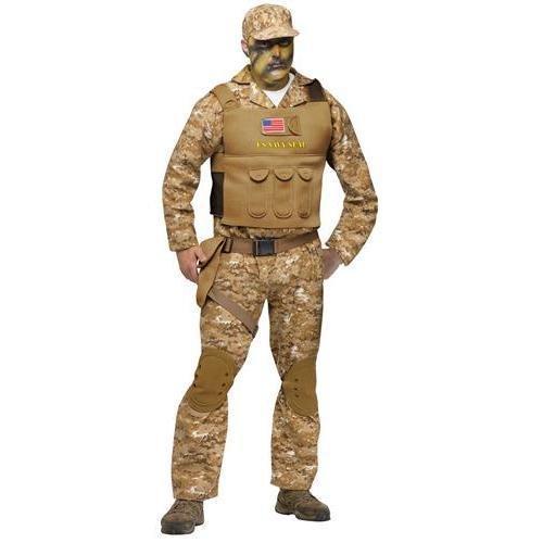 Kostüm Us Seal Navy - US Navy SEAL Kostüm - M/L - beige
