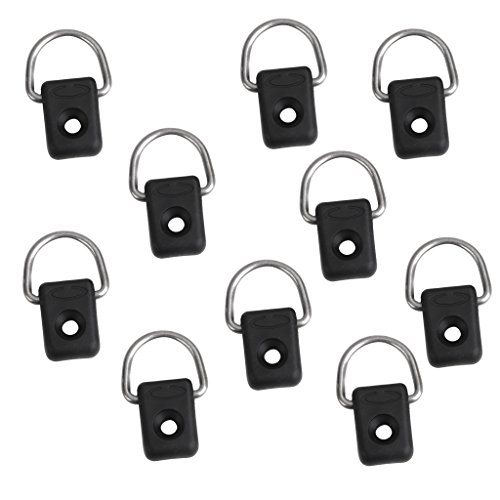 M4 x 20mm Neoprene Well Nut with 20mm Stainless Steel Pozi Screw by Kayaks 20 Pair