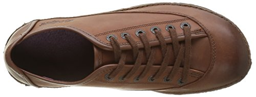 Kickers Hollyday, Baskets Basses Femme Marron