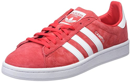 huge selection of e531c 1416a Adidas Campus W, Scarpe da Fitness Donna, Rosso (Rojray Ftwbla 000),