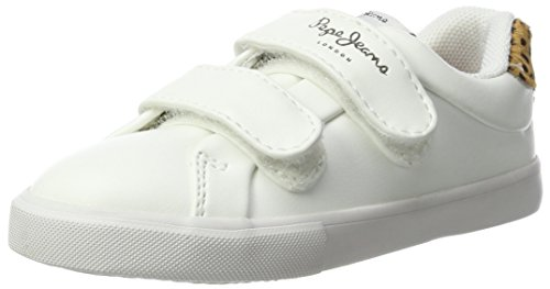 Pepe Jeans Adams Velcro, Sneakers Basses Fille