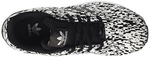 adidas ZX Flux J, Scarpe da Ginnastica Unisex-bambini Multicolore (Core Black/Core Black/Ftwr White)