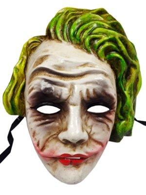 Top Qualität Authentic Handarbeit Joker Full Face venezianische Masken ideal für Halloween