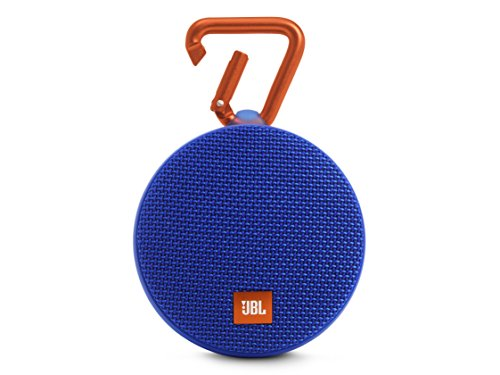 JBL Clip 2 Waterproof Bluetooth Speakers (Blue)