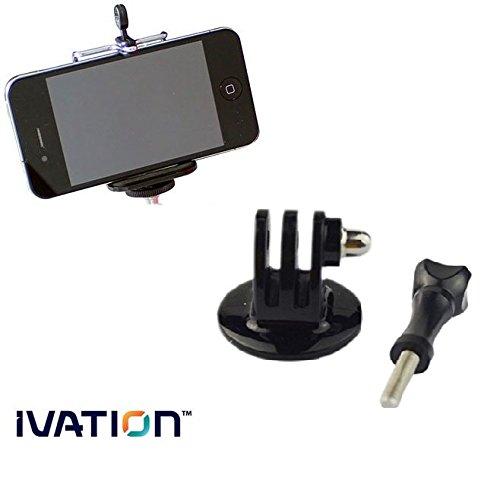 IVATION Kit trépied avec support pour GoPro &Joby GorillaPod Ofiginal pour Smartphone, SLR-Zoom pour appareils photos reflex, reflex, Micro, GripTight, Focus, magnétique, GorillaPod Trépied Flexible vidéo Mini
