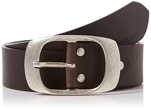Cross Jeans Unisex 0383K Gürtel, Braun (Dark Brown 052), ((Herstellergröße: 105)