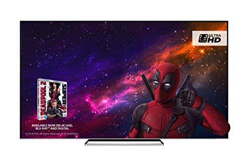 Toshiba 75U6863DB 75-Inch Smart 4K Ultra-HD HDR LED TV with Freeview Play - Black/Silver (2018 Model) Best Price and Cheapest