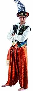 Limit Sport - Disfraz de tuareg Aladín para adultos, talla M (EA105)