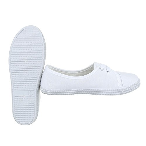 Ital-Design - Pantofole Donna Bianco