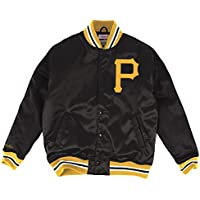 "Pittsburgh Pirates Mitchell & Ness MLB ""History"" Premium Satin Jacket"