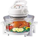 17 Liter Heißluftofen Heissluftofen Mini Backofen Heißluft Ofen 1.300 Watt 250°C