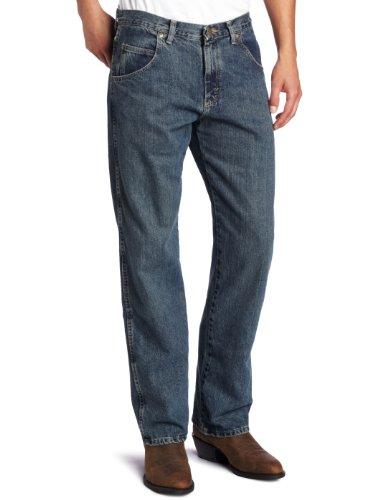 Wrangler Herren Jeanshose Big Rugged Wear Relaxed Straight Fit - Blau - 46W / 38L -