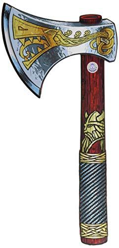 (Liontouch 50004LT Mittelalter Wikinger Spielzeug Schaumstoff AXT | Teil von Kostüm mit Schild und Helm)