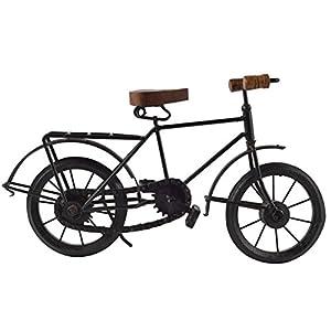 Meenakshi Handicraft Emporium Decorative Miniature of Cycle/Bicycle for Home Decoration (Black)