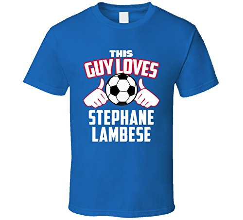 This Guy Loves Stephane Lambese Haiti Soccer Futbol Copa T Shirt Large