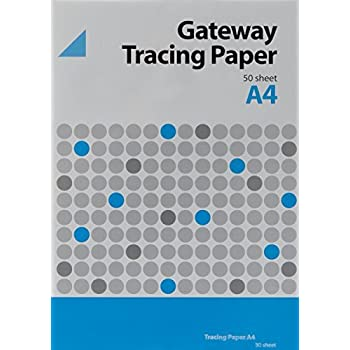 Gateway A4 63gsm  Natural Tracing Paper Pack 500 Sheets