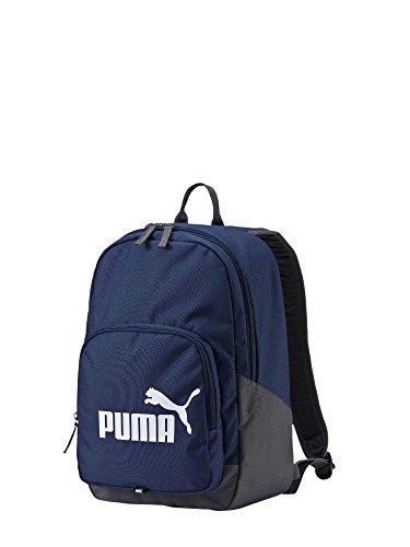PUMA fase Mochila, Mochila logo de PUMA Cat, LxAxF 44x36x10 cm - Azul o Negro.: Color: Blue