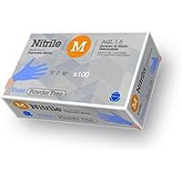 Gentle Touch 0181 Guante Desechable de Nitrilo, Talla XL, Violeta