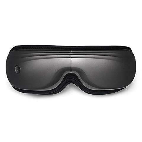 MEIDUO Augenmassager Augenpflegeinstrument Augenmassageinstrument Heißpaket Augennanny Schützen Sie Augenlicht USB-Gebühr Falten bewegliches ( Farbe : Grau )