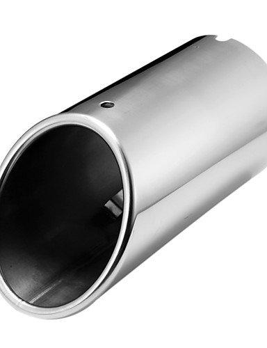 dzxgj® cromo scarico silenziatore punta tubo di coda per audi a4 b8 1.8t 2.0t 2009-2015