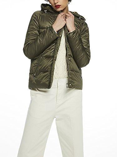 Scotch & Soda Maison Damen Jacke Reversible Puffer Jacket, Grün (Army 15), X-Slight