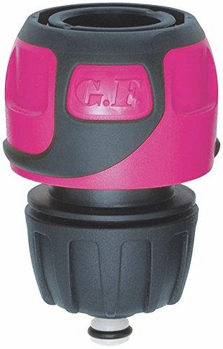 GF 80273061 Raccord rapide Soft Touch Aqua stop tuyau Ø 16 à 19 mm - Rose
