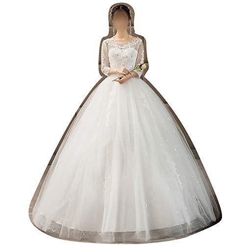 Rocke Ballkleid Sweetheart Brautkleid Hochzeit Braut für Frauen Brautkleider (Size : XL)