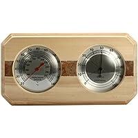 Generic Holz Sauna Hygrothermograph Thermometer Hygrometer Sauna Zimmer Zubehör