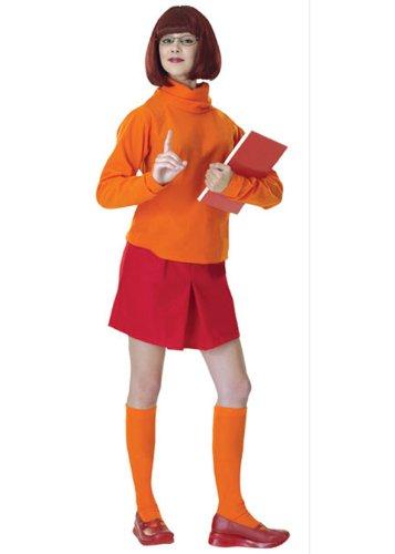 Damen Velma Scooby Doo Kostüm