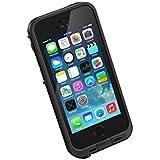LifeProof Fré wasserdichte Schutzhülle für Apple iPhone 5/5S/SE Schwarz