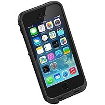 LifeProof Fre - Funda de protección sumergible con protector de pantalla para Apple iPhone SE/5/5S, color negro