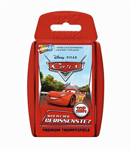 Top Trumps Disney Cars: World of Cars 62288 Disney Cars Kartenspiel