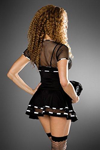 8381876b3ed5d7 Atixo Racing-Kostüm von Saresia roleplay - schwarz/weiß, Größe Atixo:XS-M